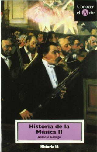 9788476793374: CONOCER ARTE 17.HISTORIA MUSICA II