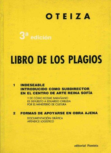 9788476811122: Libro de los plagios (Jorge Oteiza)