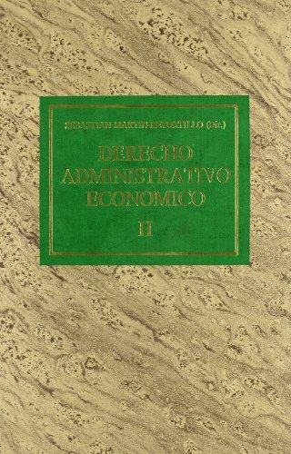 9788476950821: Derecho administrativo economico (Spanish Edition)