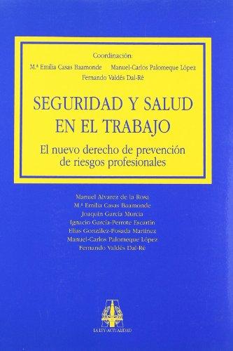 Seguridad y salud en el trabajo: El: Vvaa. Manuel Carlos
