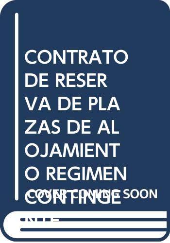 9788476983188: El contrato de reserva de plazas de alojamiento en regimen de contingente (Cuadernos de derecho privado) (Spanish Edition)