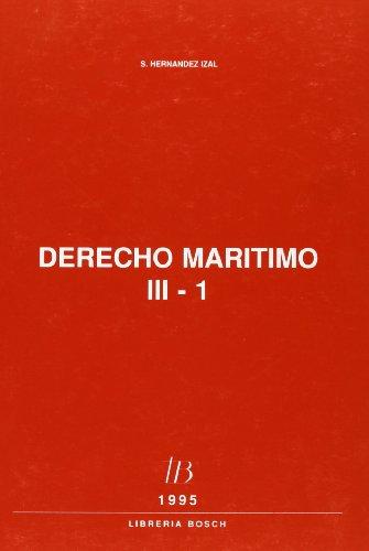 DERECHO MARITIMO TOMO III 3 VOLS: HERNANDEZ IZAL
