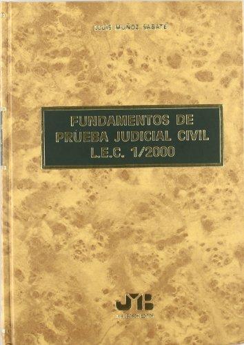 9788476986226: FUNDAMENTOS DE PRUEBA JUDICIAL CIVIL LEC
