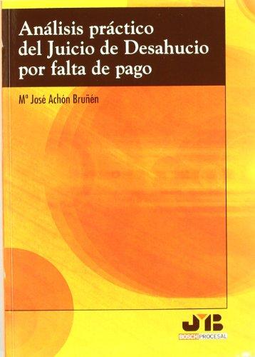 9788476988022: ANALISIS PRACTICO JUICIO DE DESAHUCIO