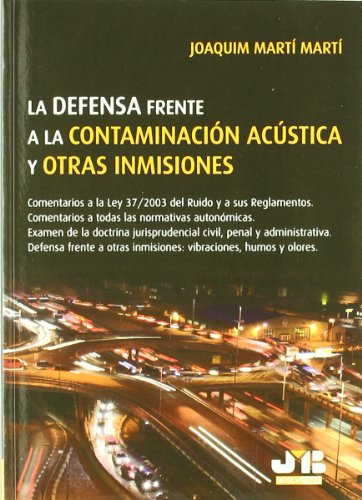 9788476988114: DEFENSA FRENTE CONTAMINACION ACUSTICA Y