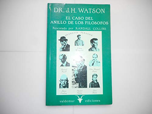 9788477020103: EL CASO DEL ANILLO DE LOS FILOSOFOS DEL DR. JOHN H. WATSON.
