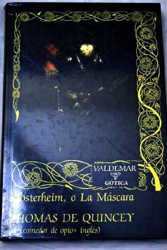 9788477020356: Klosterheim, o la máscara (Gótica)
