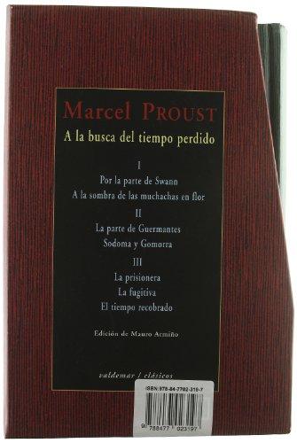 A LA BUSCA DEL TIEMPO PERDIDO: PROUST, MARCEL