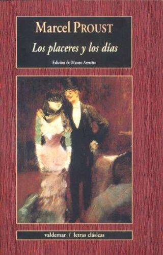 Placeres y los dias: Proust, Marcel