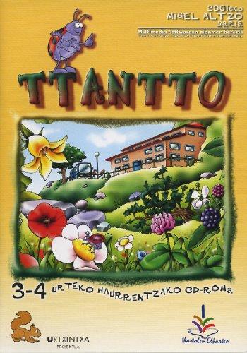 9788477036142: (cd-Rom) Ttantto (urtxintxa Proiektua) 3 Urte