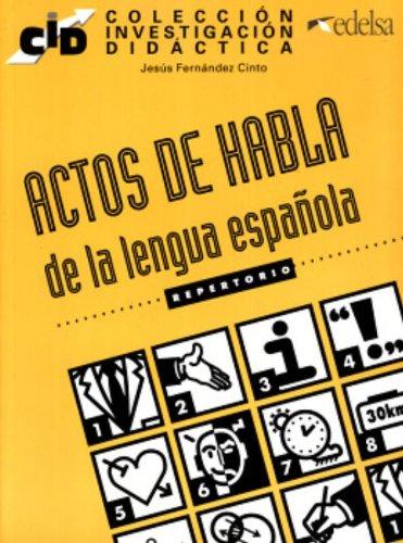 9788477110675: Actos de habla (Edelsa)