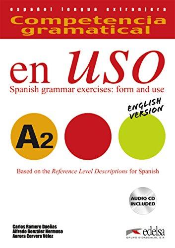9788477112044: Competencia gramatical en uso A2 - libro del alumno + CD - Versión inglesa (Gramática - Jóvenes Y Adultos - Competencia Gramatical En Uso - Nivel A2)