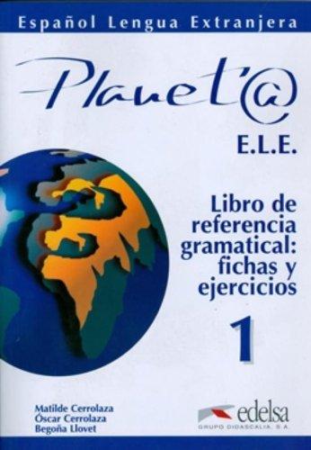 9788477112228: Planet@ 1. Libro de referencia gramatical, fichas y ejercicios (Spanish Edition)