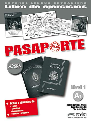 9788477113942: Pasaporte: Libro De Ejercicios + CD-audio A1 (Spanish Edition)