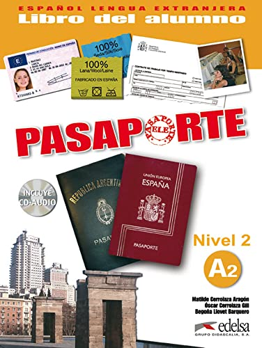 9788477113966: Pasaporte ELE 2 (A2). Libro del. Alumno + CD Audio (Spanish Edition)