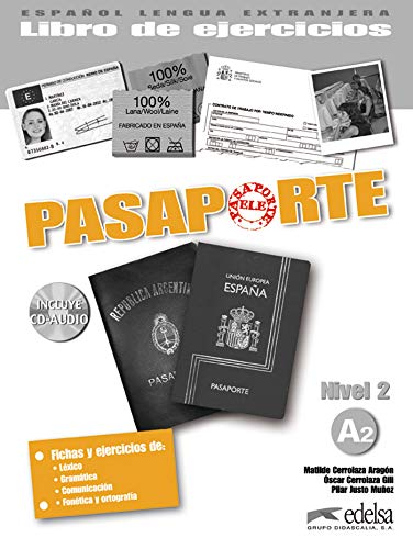 9788477113973: Pasaporte: Libro De Ejercicios + CD-Audio A2 (Spanish Edition)