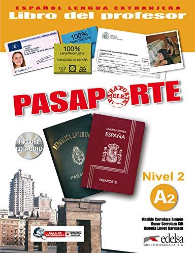 9788477113997: Pasaporte ELE 2 (A2). Libro del profesor + CD Audio (Spanish Edition)