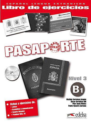 9788477114086: Pasaporte ELE 3 (B1). Libro de ejercicios + CD Audio (Spanish Edition)