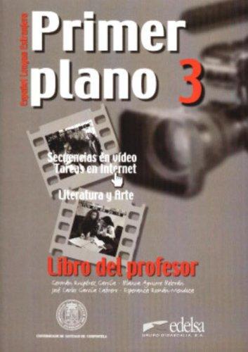 Primer plano 3. Libro del profesor.