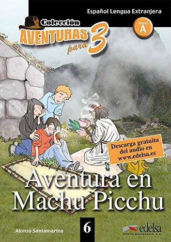 9788477115755: Aventura en Machu Picchu - livre + mp3