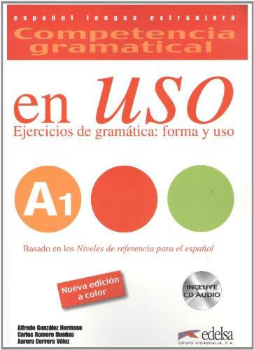 9788477116028: Competencia gramatical en USO A1: ejercicios de gramatica, forma y uso (Ed. 2010 color) (Spanish Edition)