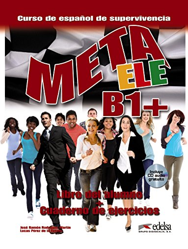9788477117636: Meta Ele: Libro Del Alumno + Cuaderno De Ejercicios + CD B1+