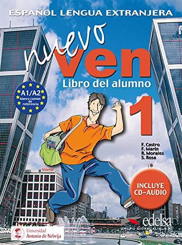 9788477118312: Nuevo Ven 1 Libro Del Alumno [Lingua spagnola]: Libro del alumno + CD 1: Vol. 1