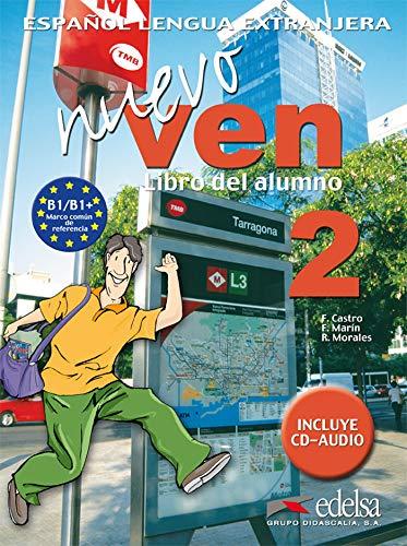 9788477118428: Nuevo Ven: Libro del alumno + CD 2
