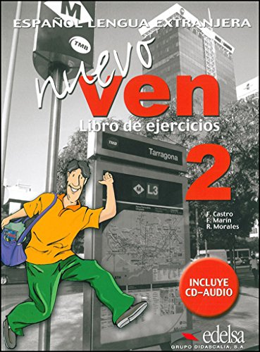 Nuevo Ven 2: Libro De Ejercicios: Castro, Francisca; Marin,