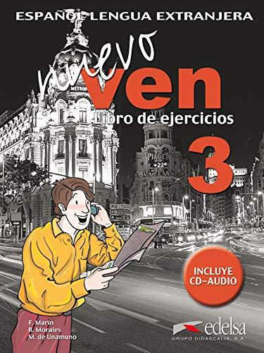 Nuevo Ven 3 Ejercicios + CD: Mar?n Arrese, Fernando