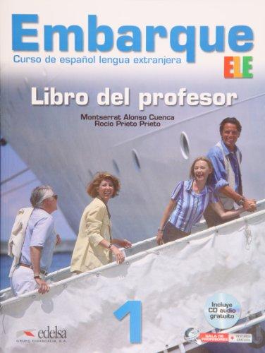 9788477119524: Embarque 1 (A1+). Libro del profesor (Spanish Edition)