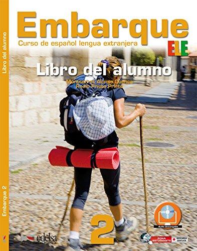 Embarque: Libro del alumno 2 (A2+): Prieto Prieto, Rocio,
