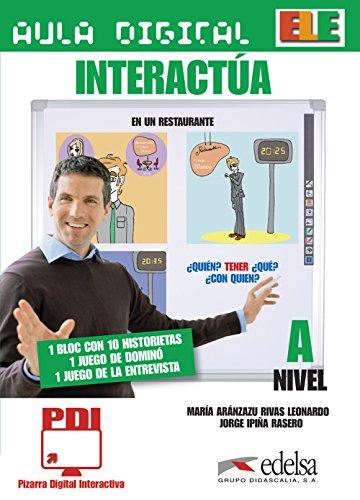 9788477119593: Aula Digital (Material for Iwbs): Interactua CD-Rom (Nivel A)
