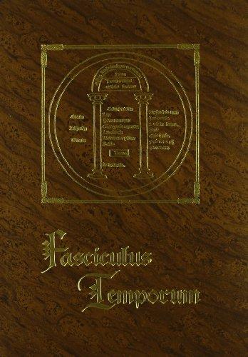 FASCICULUS TEMPORUM. COMPENDIO CRONOLOGICO. FACSIMIL (1481), TRANSCRIPCION Y TRADUCCION: ROLEWINCK,...