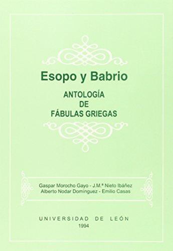 9788477194514: Esopo y Babrio : antologías de fábulas griegas