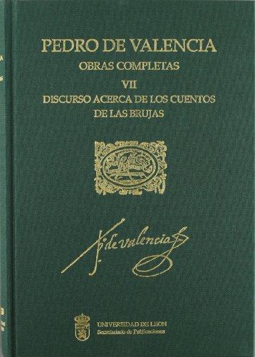 9788477195801: Discurso acerca de los cuentos de las brujas (obras completas de Pedro