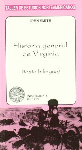 9788477199465: HISTORIA GENERAL DE VIRGINIA
