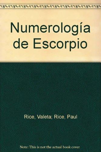 9788477200086: Numerología de Escorpio