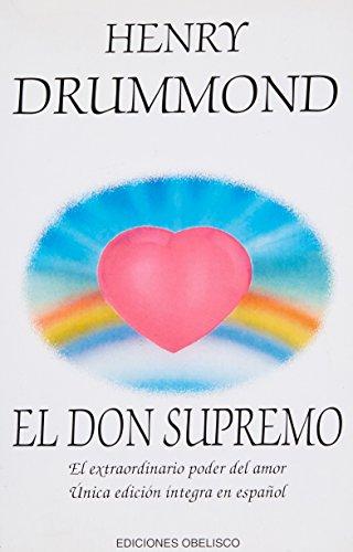 9788477206484: DON SUPREMO,EL (ESPIRITUALIDAD Y VIDA INTERIOR)