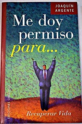 9788477207337: Me Doy Permiso Para ... (Spanish Edition)
