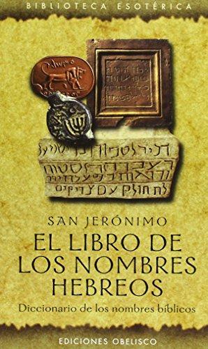 9788477209331: El libro de los nombres hebreos (TEXTOS TRADICIONALES)