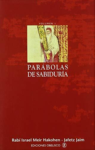9788477209447: Parábolas de sabiduría. I (CABALA Y JUDAISMO)