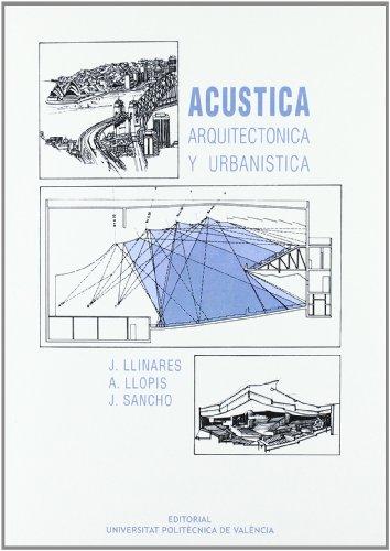 9788477214410: Acústica arquitectónica y urbanística (Académica)