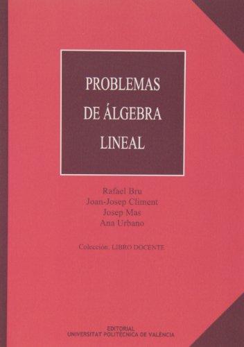 9788477216292: Problemas de Álgebra Lineal (Académica)
