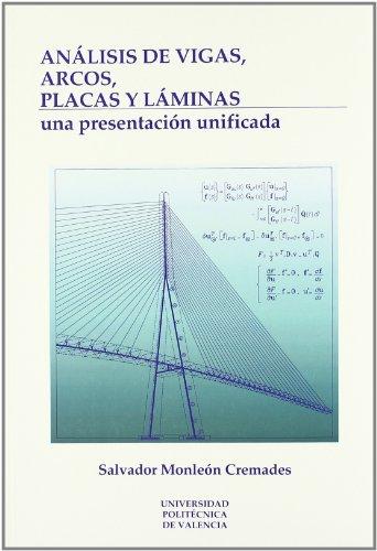 9788477217695: Análisis de Vigas, Arcos, Placas y Láminas: Una Presentación Unificada (Académica)