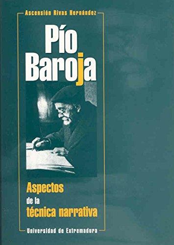 9788477233237: Pío Baroja: Aspectos de la técnica narrativa (Spanish Edition)