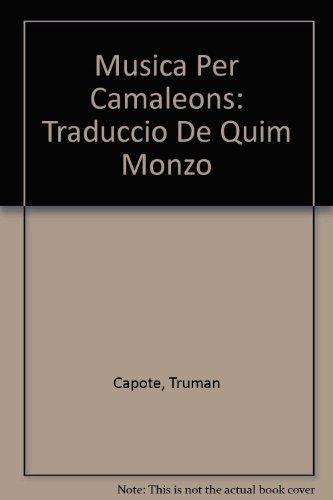 9788477270324: Musica Per Camaleons: Traduccio De Quim Monzo