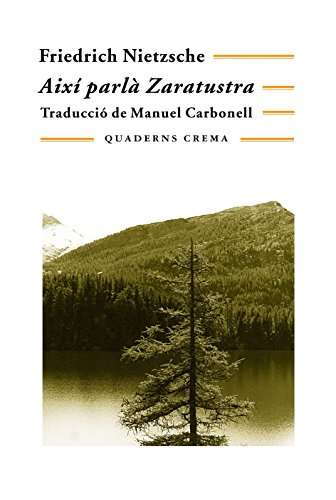 9788477270751: Així parlà Zaratustra (Biblioteca Mínima)