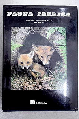 Fauna iberica (Spanish Edition): Miguel Ibanez Artica