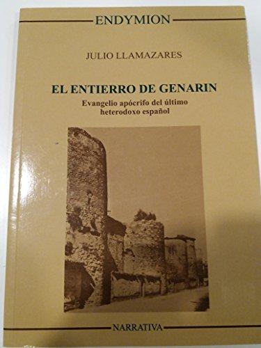 9788477311003: El entierro de Genarín (Narrativa)